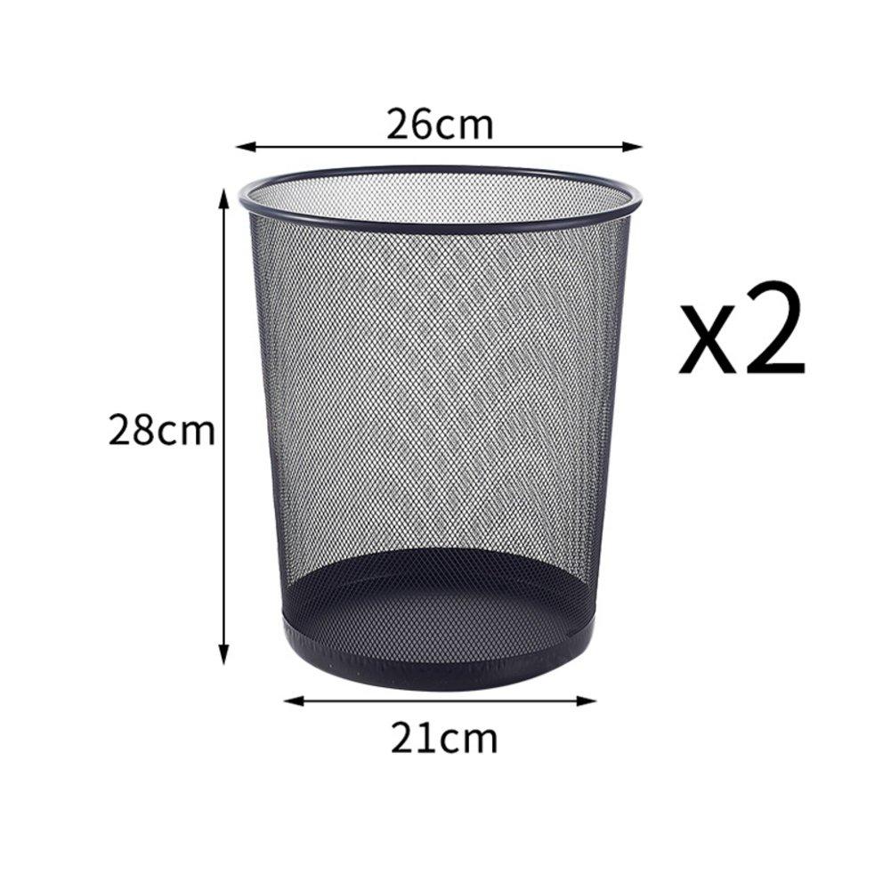 PEIISFUGB innovative household trash office trash bin kitchen room toilet trash bin no cover paper baskets-G
