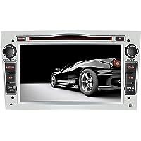 AWESAFE Radio Coche 7 Pulgadas con Pantalla Táctil 2 DIN para Opel, Opel Autoradio con Bluetooth/GPS/FM/RDS/CD DVD/USB…