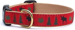 """product image for Up Country MOO-C-L Moose Collar L Wide (1"""") Dog Collar 300 g"""