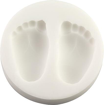 FPC Sugarcraft - Molde de silicona de bebé para huellas de ...