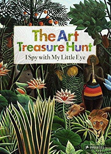The Art Treasure Hunt: I Spy with My Little Eye (The Treasure Art Hunt)