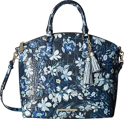 Brahmin Women's Large Duxbury Satchel Navy One Size by Brahmin