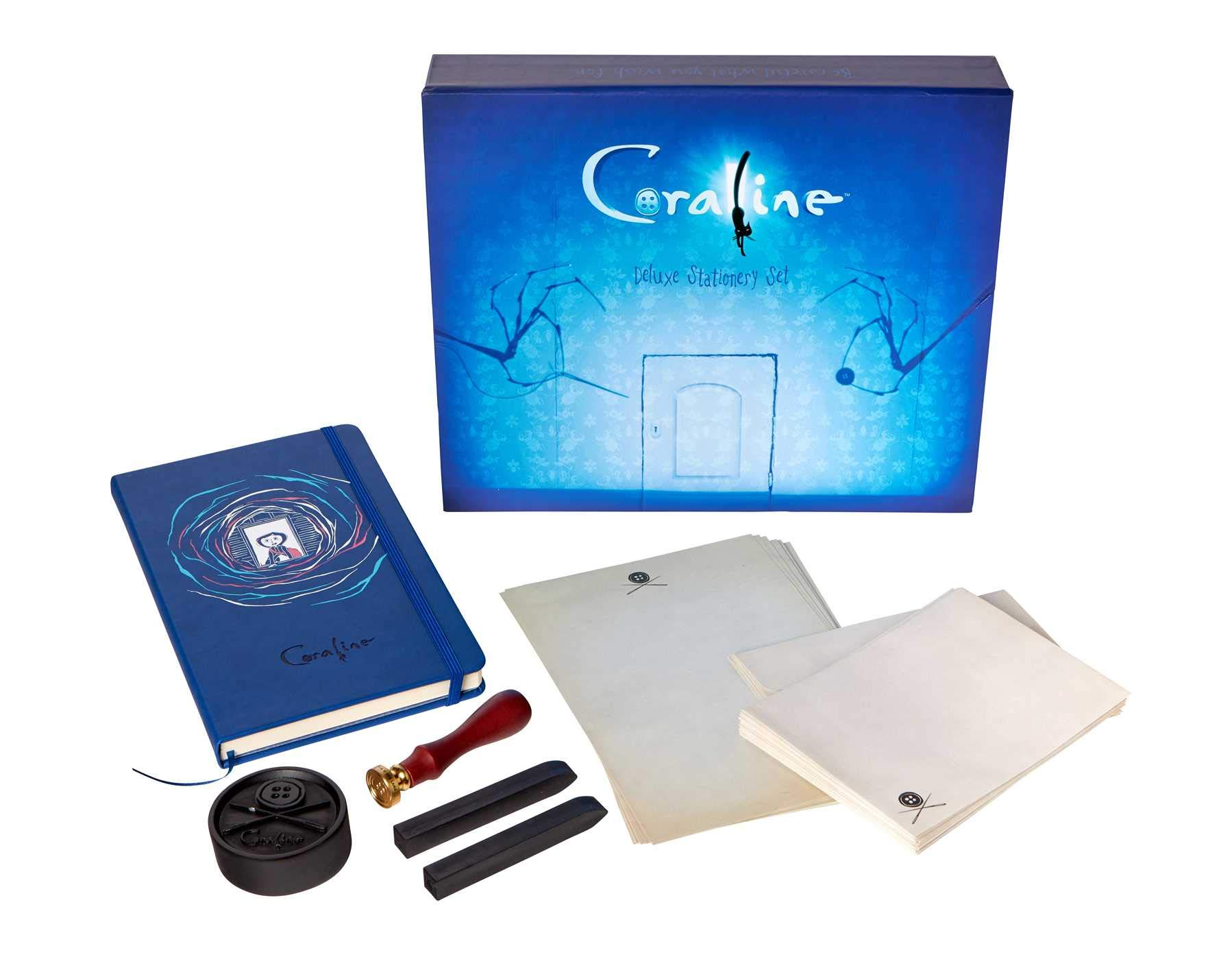 Coraline Deluxe Stationery Set Insight Editions 9781683837589 Amazon Com Books