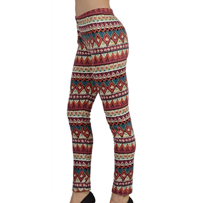 a21ae5a2008 Fleece Lined Leggings for Women - High Waist Stretchable Pants - Thermal  Compression Full Length Tights