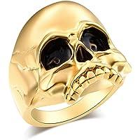 メンズ リング ドクロ 指輪 人気 スカルりん ブランド デザイン スカル ダークファッション アクセサリー