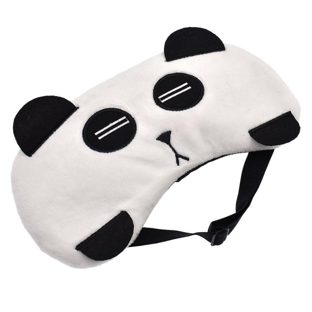 ynuth Ojo Máscara Dormir máscara gato Panda Gallina oso zorro Viaje Hogar elástico: Amazon.es: Salud y cuidado personal