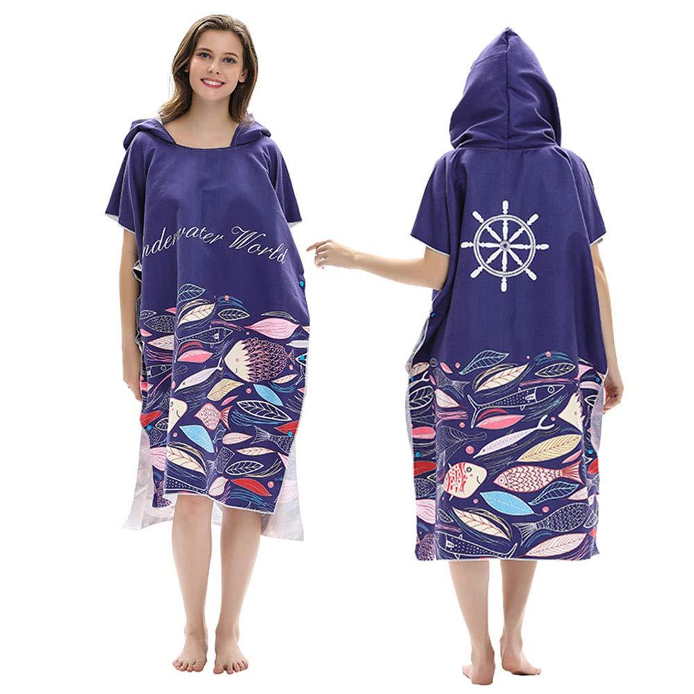 Super Acqua Assorbente Muta Modifica Robe Asciugamani per Surf Nuoto Bathing WWJQ Spiaggia Surf Poncho
