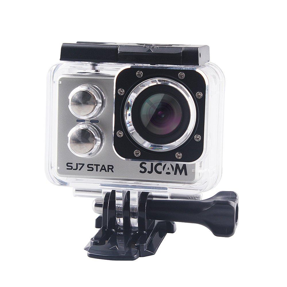 SJCAM SJ7 STAR Action kamera WLAN 4K-Video Touchscreen Remote-Funktionen Ambarella A12S75 30m Wasserdicht Mini DVR 2 batteries + A double charger