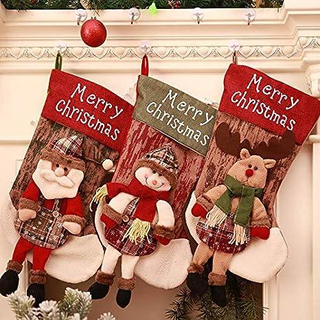 Befana E Babbo Natale.Jamila Decorazioni Di Natale 2019 Di Natale Calza Della