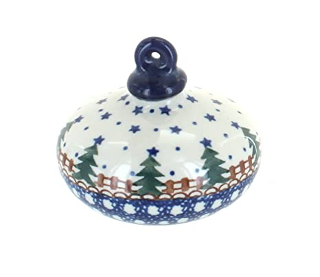 Polish Pottery Rustic Pines Flat Christmas Ornament - Amazon.com: Polish Pottery Rustic Pines Flat Christmas Ornament