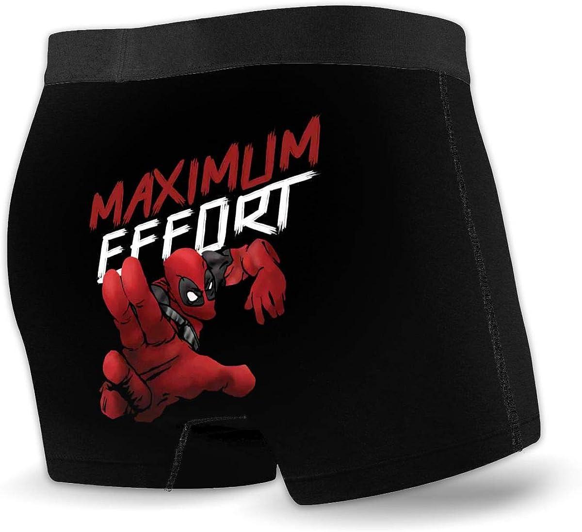 FGN Boyfriend Gift D-Eadpool Finding Francis Printing Mens Boxer Briefs