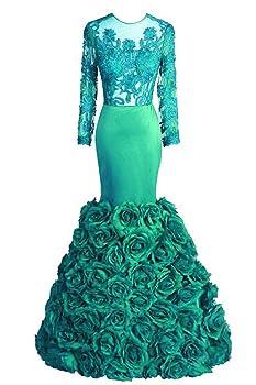 Tsbridal Mermaid Prom Dresses 2018