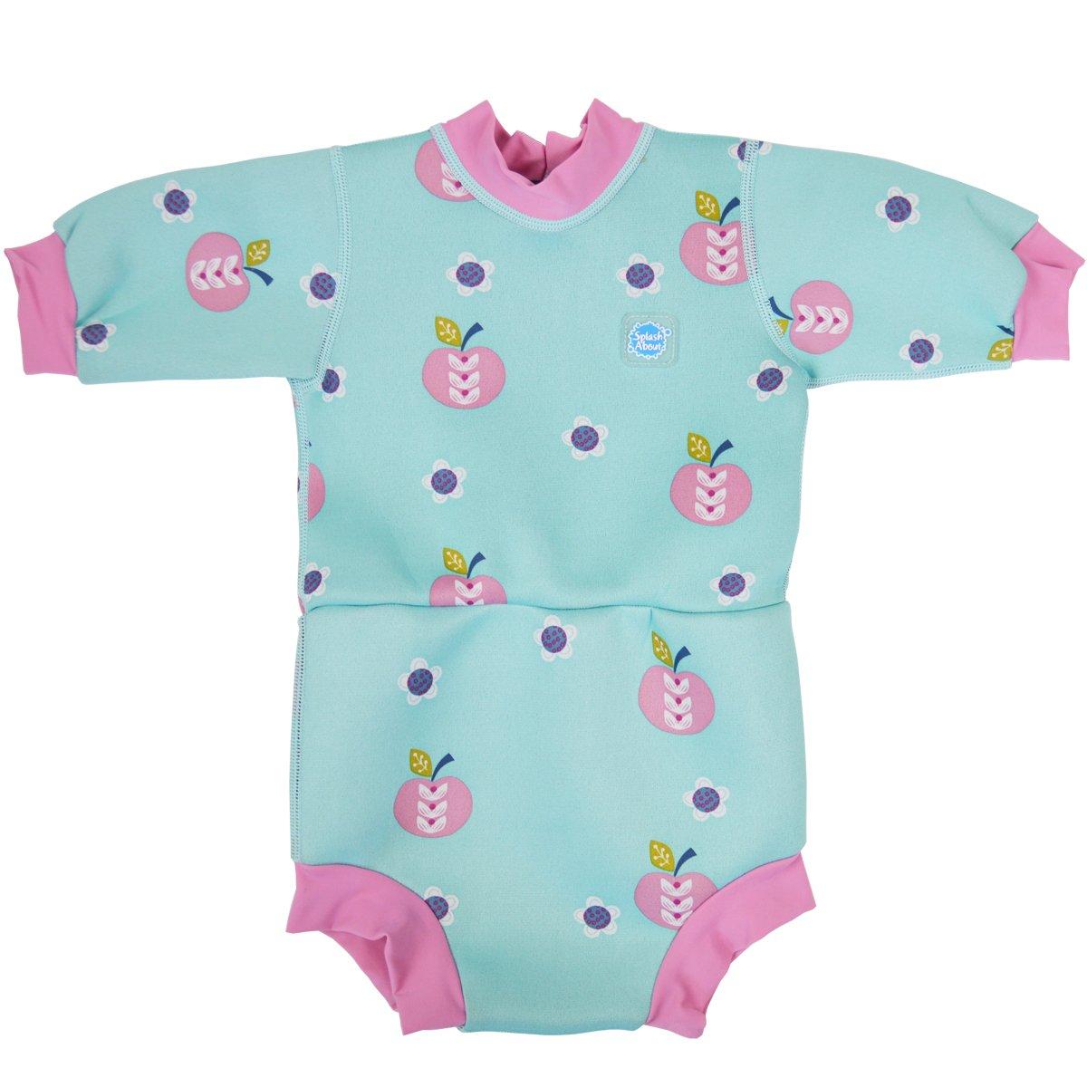 Splash About Happy Nappy - Tutina impermeabile da bambino, pannolino integrato