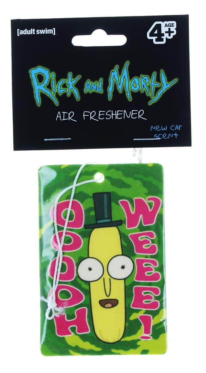 Rick and Morty Poopybutthole Air Freshener Hot Properties vikraf266