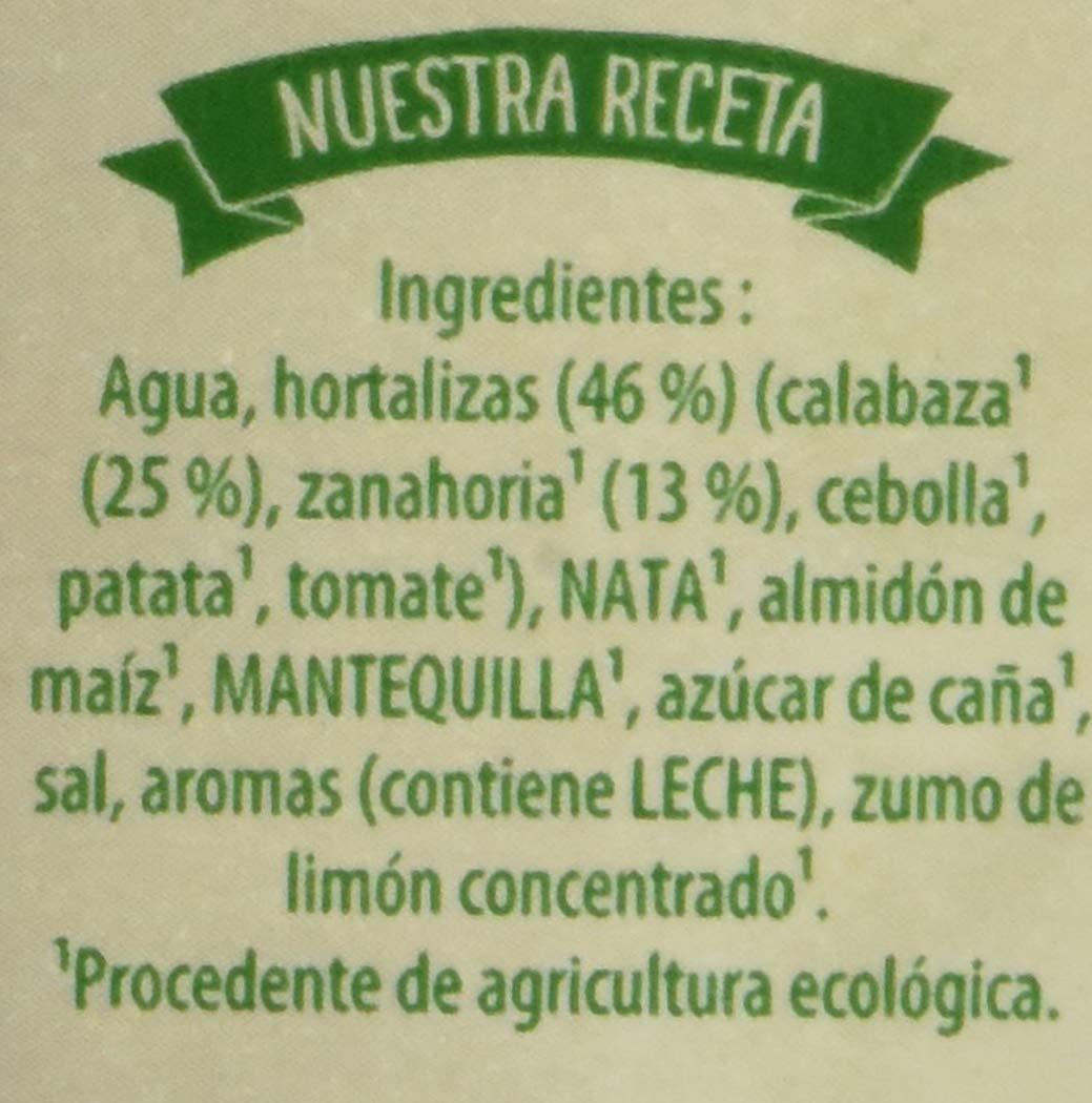 Knorr Eco Puré de Calabaza con Zanahoria - Paquete de 8 x 1 L - Total: 8 L: Amazon.es: Alimentación y bebidas