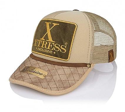 Xtress Exclusive Gorra de color caqui para hombre y mujer.: Amazon.es: Ropa y accesorios
