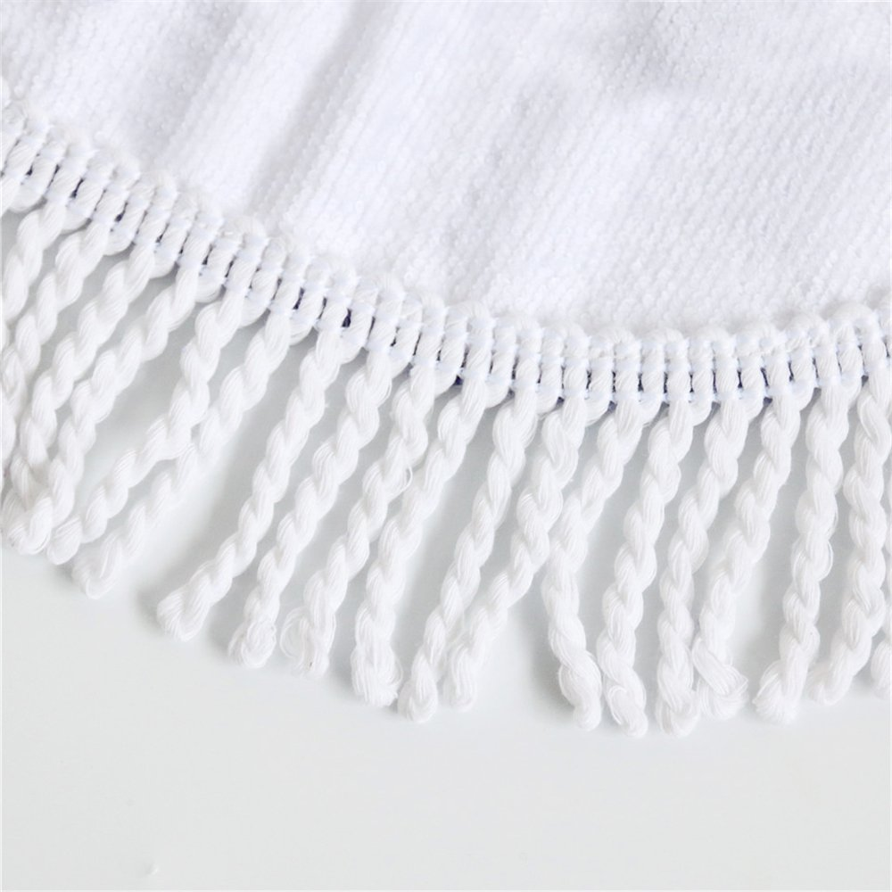 Kess InHouse EBI Emporium Swept Away II Round Beach Towel Blanket