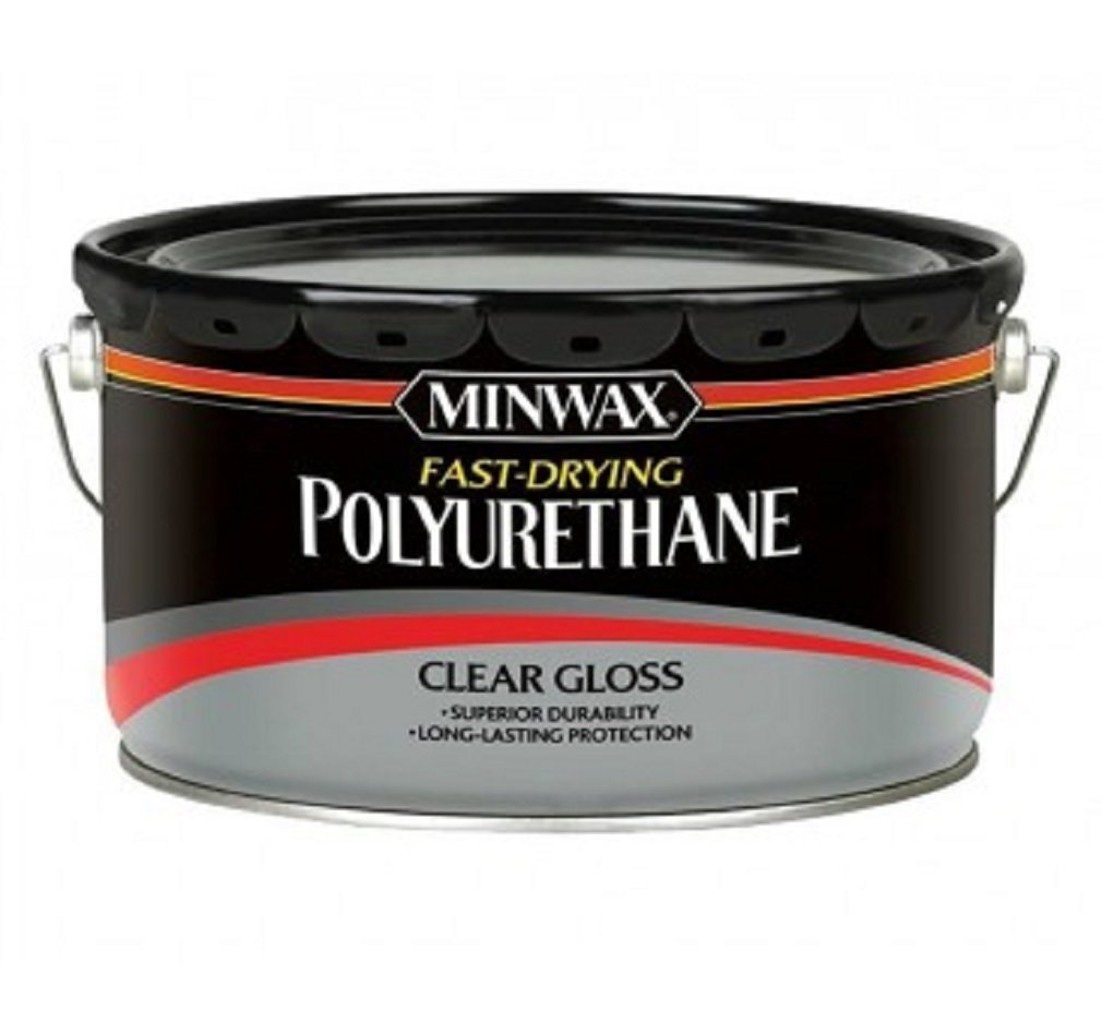 Minwax 319100000 Super Fast-drying Polyurethane For Floors, 2.5 Gallon, Gloss