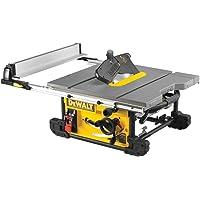 DeWalt DWE7491-QS–Scie de table 2000W–Ø 250mm–Table 670x 630mm–électronique–portable