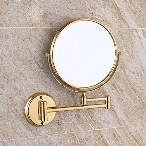 Bathroom mirrors The Bathroom Wall Mirrors Folding Mirror wc telescopic mirrors magnify duplex beauty mirror