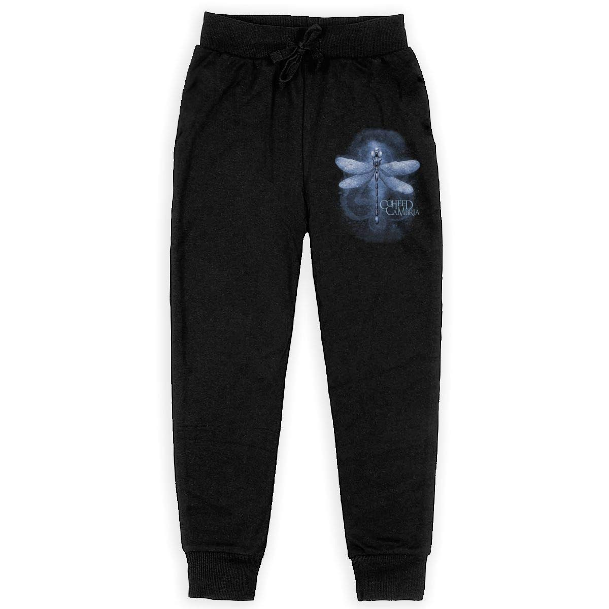 Tangzhikai Unisex Teens Coheed and Cambria Fashionable Music Band Fans Daily Sweatpants for Boys Gift with Pockets
