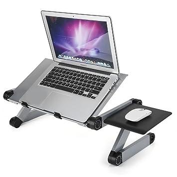 GOTOTOP Mesa Plegable para PC, Mesa PC, Bandeja Plegable para ...