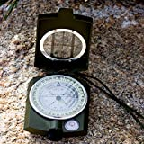 Under Control Tactical Best Sighting Compass For Camping - Military Grade Survival & Mapping Gear