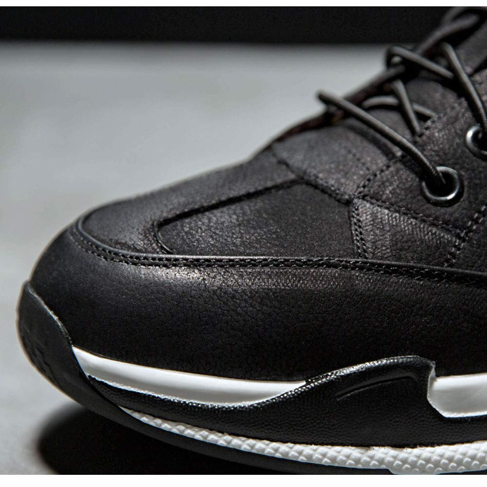 HPLL Shoe Men's Sneakers, Black Black Black Casual Shoes, Running Shoes, Jogging, Breathable Soft Bottom Outdoor Shoes 38|Black B07JF7C9XT 8fa118
