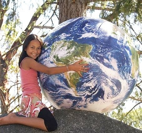 ''Huge Inflatable Globe, 1 Meter in Diameter, Earthball'' by Planet Earth