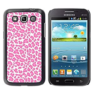 Paccase / SLIM PC / Aliminium Casa Carcasa Funda Case Cover - White Pink Pattern Fur Animal - Samsung Galaxy Win I8550 I8552 Grand Quattro