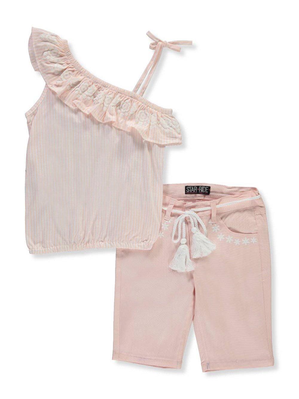 Star Ride Girls' 2-Piece Short Set Outfit