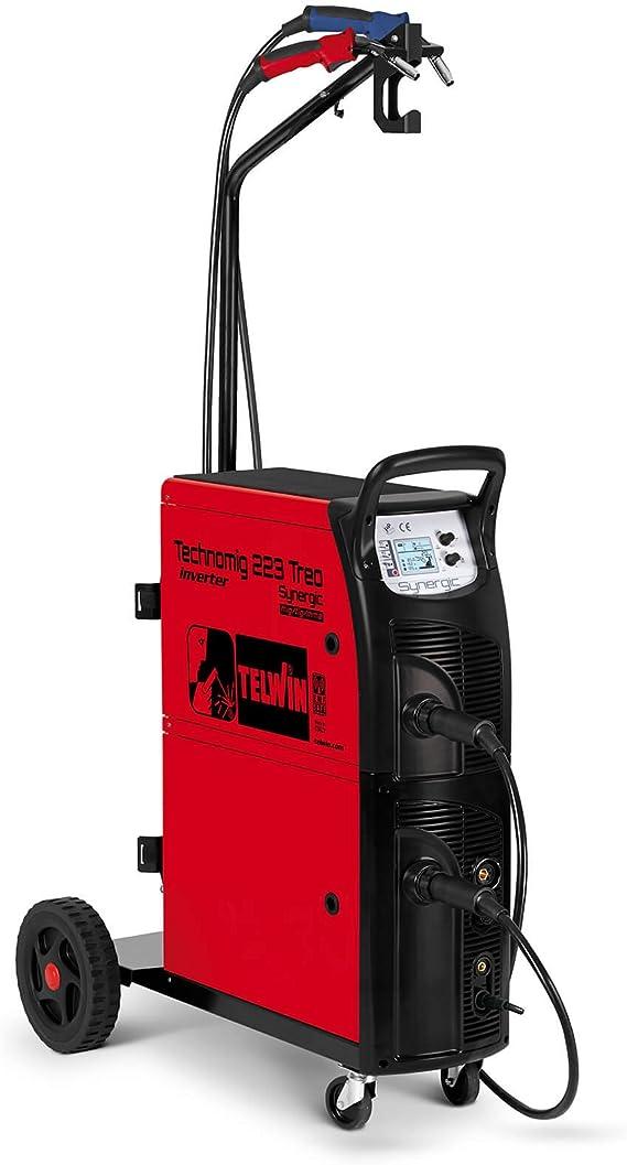 TELWIN TE-816058 - Soldador Inverter de Hilo Mig-Mag/flux/ 2
