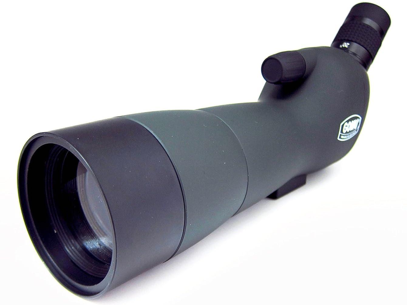 特異性数学海里SVBONY SV14フィールドスコープ バードウォッチング 望遠鏡 単眼鏡 高倍率 防水 天体観測 野鳥観察 スマホアダプタ付き 日本語マニュアル付き (20倍-60倍 60mm)