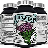 World Class Vitamins Best Liver Cleanse Detox Support Supplement with Milk Thistle 60 Veggie Capsules
