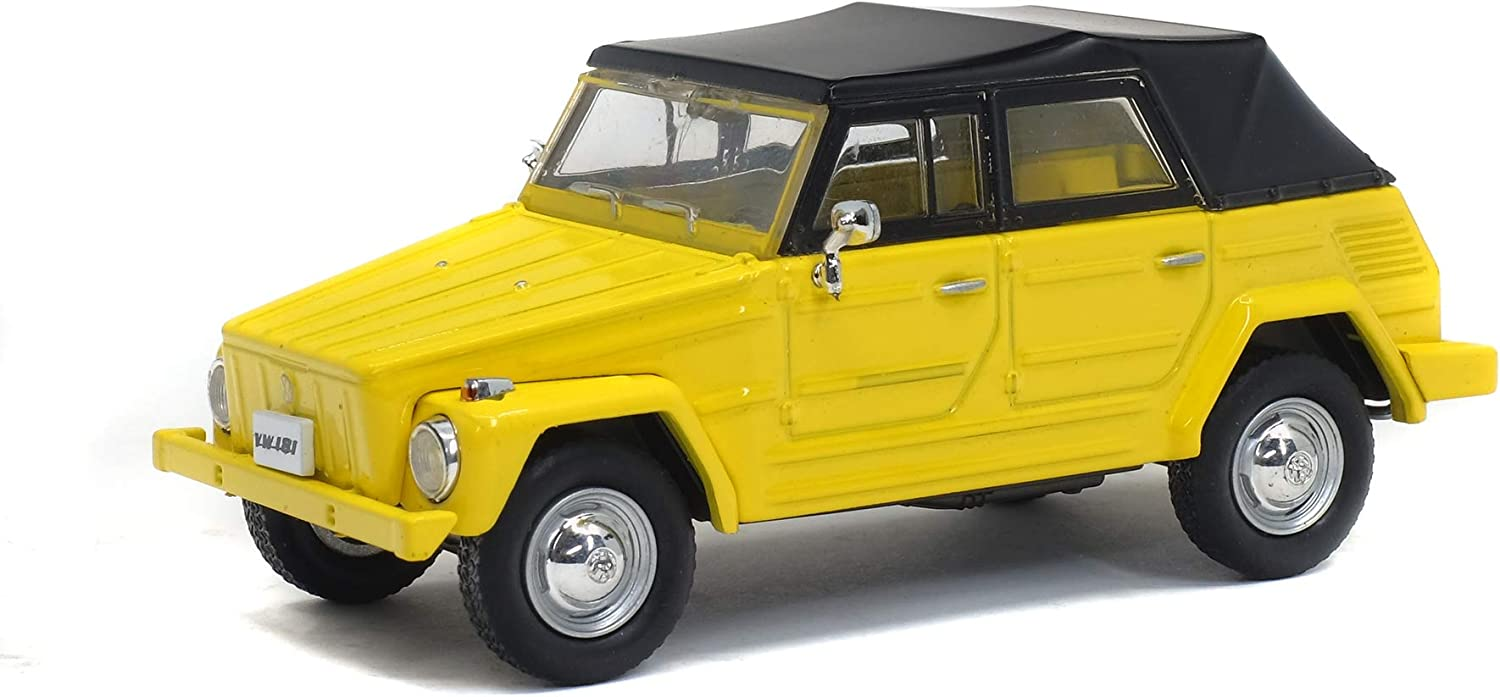 Solido S4305100 1:43 1971 Volkswagen VW Thing 181-Yellow White