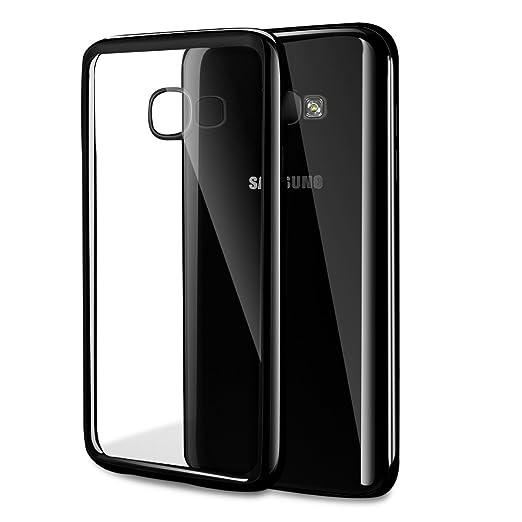 15 opinioni per Galaxy A5 (2017) Custodia, Orlegol Ultra-Sottile Slim fit Crystal Bumper Caso