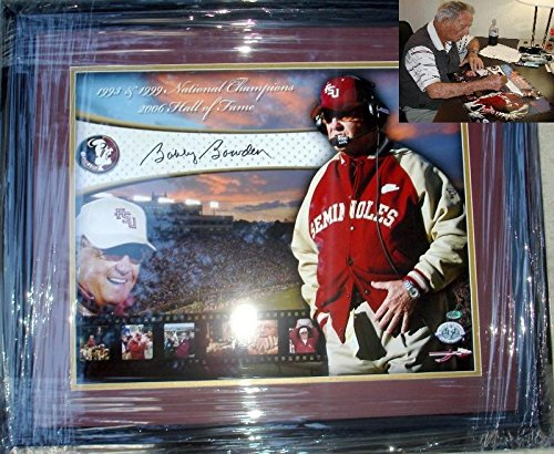 Autographed Bowden Picture - 16 x 20 Career Collage Custom Framed - Autographed College Photos