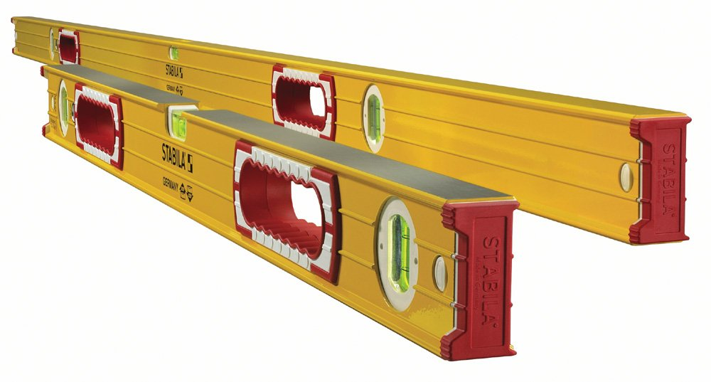 Stabila 37532 Jamber 78-Inch and 32-Inch Aluminum Box Beam Level Set