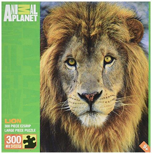 MasterPieces Animal Planet Lion EZ Grip Jigsaw Puzzle, 300-Piece