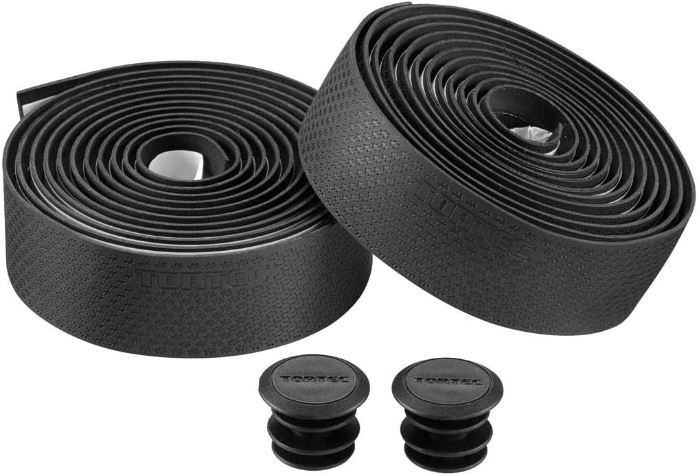 Black Tortec Unisexs Super Comfort Handlebar Tape 2100X3mm
