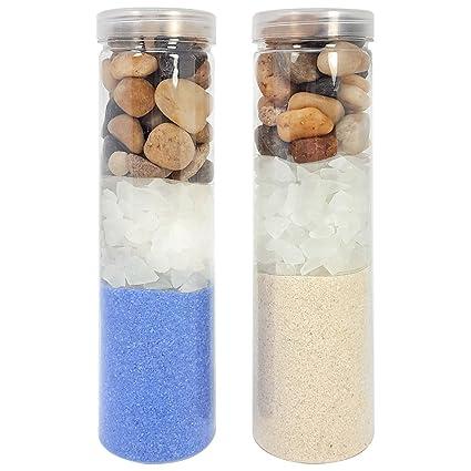 verschiedene Farben Sand Dekosteine Dekosand