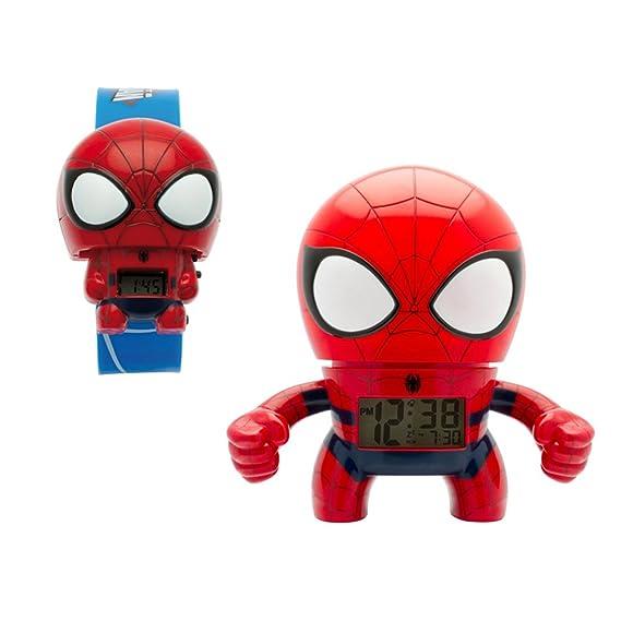 83830810aa7f Bulb Botz 2020039-S Set Reloj de Pulso y Reloj Despertador Spider ...