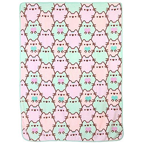 Pusheen Pastel Hearts Throw Blanket Buy Online In Oman Home New Pusheen Purrfect Weekend Throw Blanket