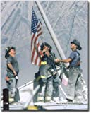 New York Firefighters Raising Flag 9/11 NYC 8x10
