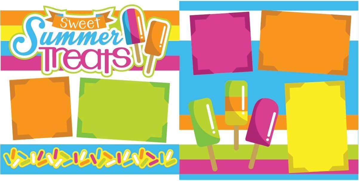 Sweet Summer Treats Scrapbook Page Kit