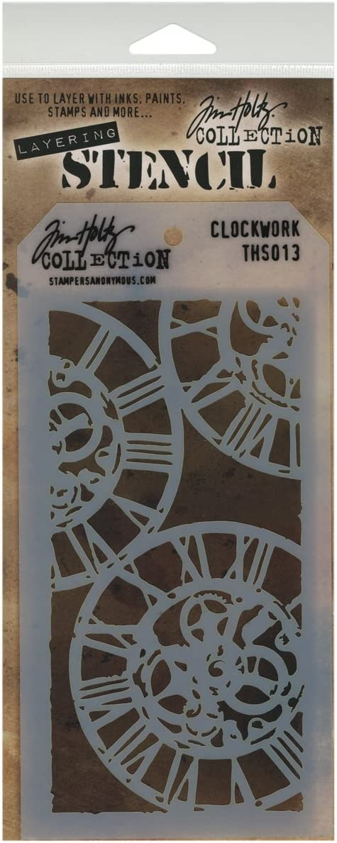 1 or 2//pack Tim Holtz Layering Stencils NEW!! you choose//combined shipping