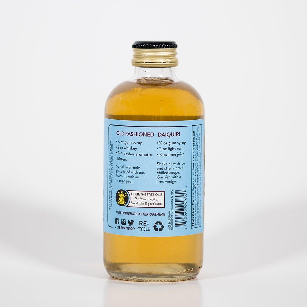 Amazon.com : Liber & Co. Classic Gum Syrup (17oz) : Grocery ...