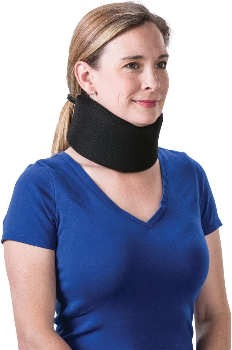 Core Products Foam Black Cervical Collar - 2 Inches: Home & Kitchen