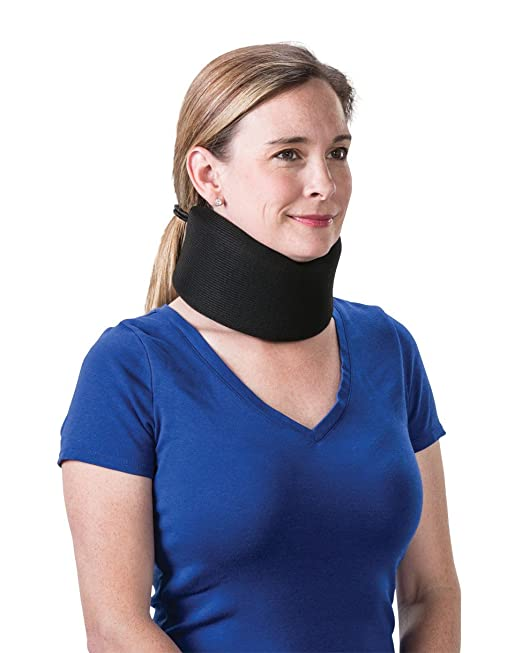 "Foam Cervical Collar Universal - 2"", Black"