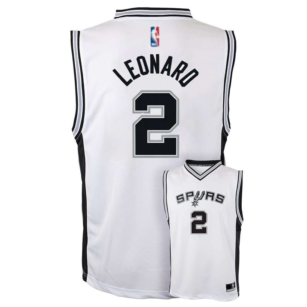 buy popular f0556 7a35b Amazon.com : Outerstuff Kawhi Leonard San Antonio Spurs #2 ...